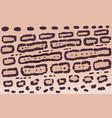 ocelot print texture background vector image vector image