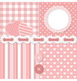 Pink scrapbook set vector | Price: 1 Credit (USD $1)