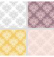 Summer ethnic seamless pattern vector image