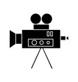 video cinema camera vintage icon vector image