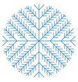 Christmas snowflakes on white background