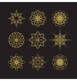 Circular Ornament Set vector image vector image