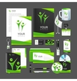 corporate identity to your business in the vector image