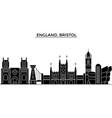 england bristol architecture city skyline vector image vector image