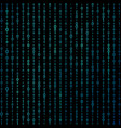 matrix binary code background vector image
