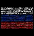 russian flag mosaic of people texts vector image vector image