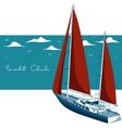 Yacht club vector image