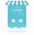 background for advertising milk