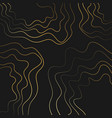 black and gold paper cut wallpaper vector image vector image