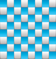 Checkered board blue vector image vector image