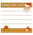Christmas wishlist vector image vector image