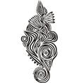 Floral pattern design element vector image vector image