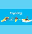 Kayaking set