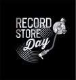 retro vinyl record store day background 22 vector image vector image