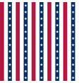 usa background with elements american flag vector image vector image