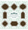 vintage collection Baroque and antique frames vector image