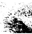 black ink paint explosion splatter artistic cover vector image vector image
