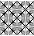 Design seamless monochrome geometric pattern vector image vector image