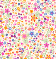 Ditsy flowers vector | Price: 1 Credit (USD $1)