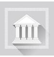 Greek Pillars Icon vector image