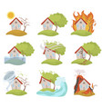 insurance and risk for a house home safety vector image vector image