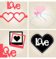 Love Sets vector image vector image