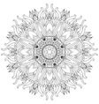 Mandala Ethnic decorative elements Hand drawn vector image vector image