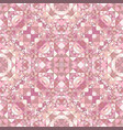 pink abstract repeating triangle mosaic vector image vector image