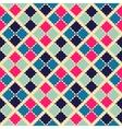 Retro beauty seamless pattern vector image
