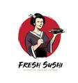 sushi lady