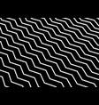 Abstract diagonal white chevron wave or wavy