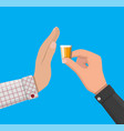 alcohol abuse concept vector image vector image