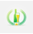 Best Beer bright logo or label vector image vector image