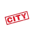 City Rubber Stamp vector image vector image