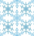 Festive seamless pattern with blue colored vector image vector image