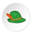 Irish hat icon cartoon style vector image vector image