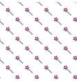magic wand star pattern seamless vector image vector image