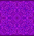 purple seamless abstract triangle mosaic tile vector image vector image