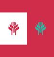 shape company logo vector image vector image