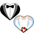 Wedding love vector image vector image