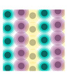 abstract gradient circle background vector image