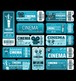 cinematography movie festival cinema tickets vector image
