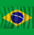 flag of brazil brazilian national symbol vector image vector image