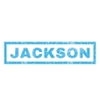 Jackson Rubber Stamp vector image vector image