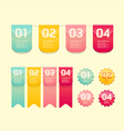 Modern soft color design button vector | Price: 1 Credit (USD $1)