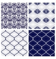 Set of seamless patterns in arabian style vector image vector image