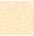 Creamy-colored seamless pattern vector image vector image