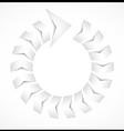 Cycle arrow concept design vector image vector image