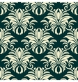 Gothic floral beige pattern vector image vector image