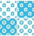House patterns set vector image vector image